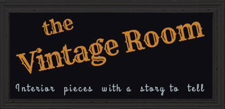 The Vintage Room – Highly desirable and interesting vintage decor and furniture Logo